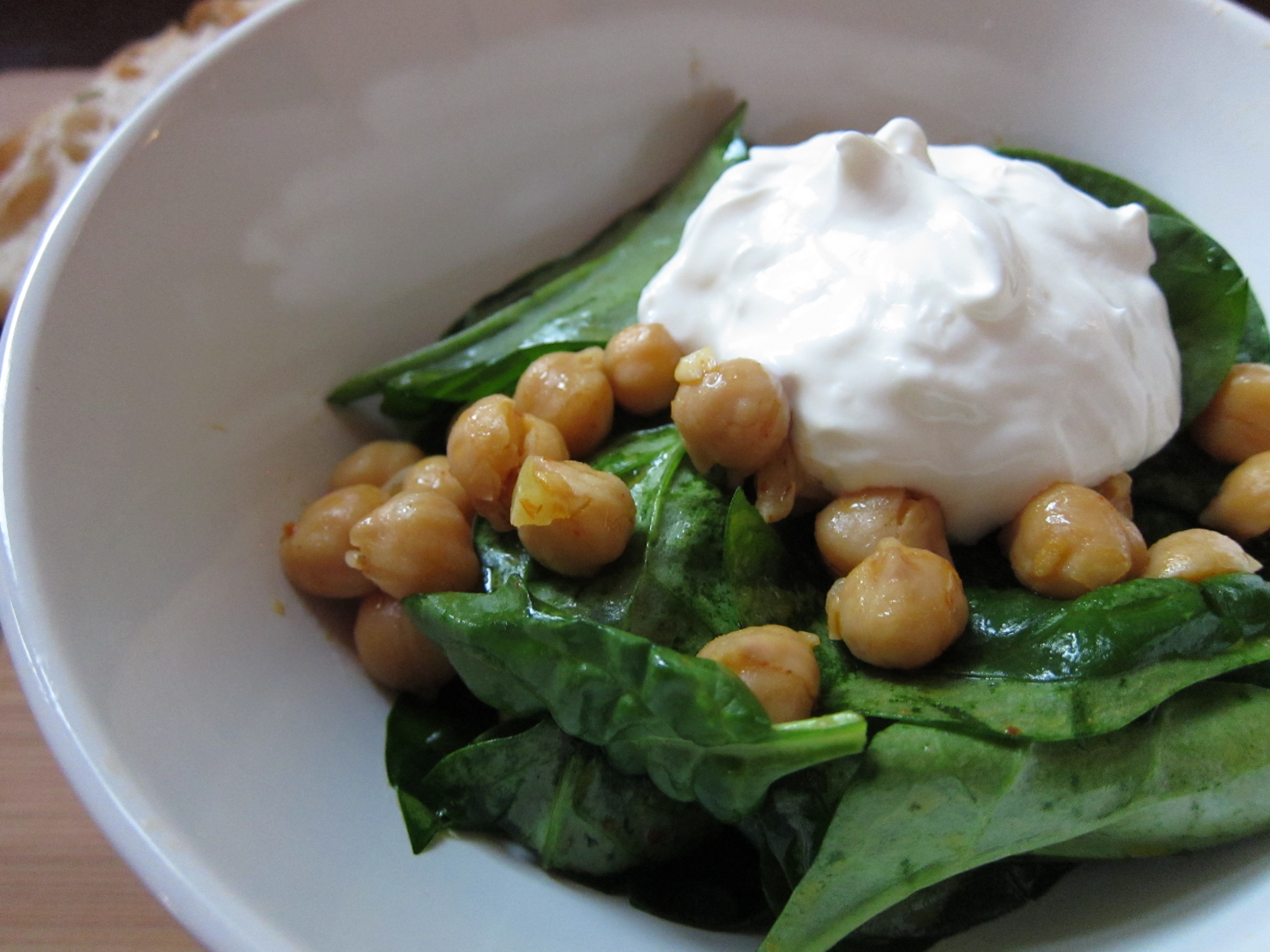 Harissa Chickpeas with Spinach and a *Giveaway*! | dishes ...
